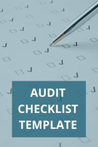 Free Audit Checklist Template Icon